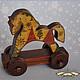 Игрушки животные, ручной работы. Ярмарка Мастеров - ручная работа. Купить Новогодняя лошадка. Handmade. Деревянная игрушка, патинирующий воск