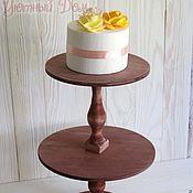 Для дома и интерьера handmade. Livemaster - original item Two-tier cake dish. Handmade.