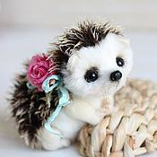 Куклы и игрушки ручной работы. Ярмарка Мастеров - ручная работа Ёжик Малыш По авторская игрушка тедди. Handmade.