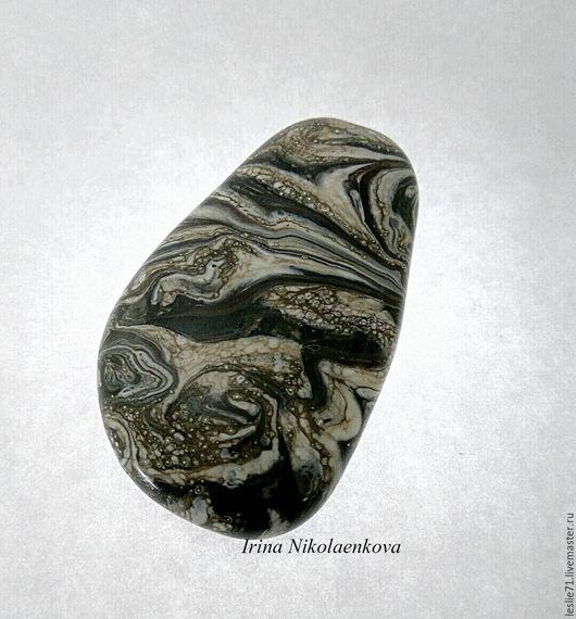 """Для украшений ручной работы. Ярмарка Мастеров - ручная работа. Купить Кабошон  """"Аляска"""" продан. Handmade. Комбинированный, авторский лэмпворк"""