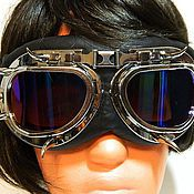Goggles handmade. Livemaster - original item GOGGLES STEAMPUNK INFORMAL GLASSES