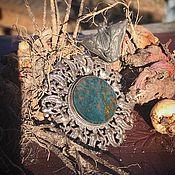 Винтаж handmade. Livemaster - original item Magical Victorian Heliotrope Brooch.. Handmade.