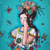 """Одежда ручной работы. Ярмарка Мастеров - ручная работа Платье """"Весна"""". Handmade."""