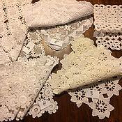 Винтаж handmade. Livemaster - original item Sets of vintage napkins ,handmade Germany. Handmade.