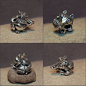 Материалы для творчества handmade. Livemaster - original item Scrat charm. Handmade.
