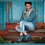 """Свитеры ручной работы. Ярмарка Мастеров - ручная работа Свитер """" Под любимые джинсы"""". Handmade."""