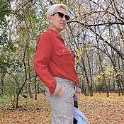 Одежда ручной работы. Ярмарка Мастеров - ручная работа Брюки шерсть с шёлком Hugo Boss .. Handmade.