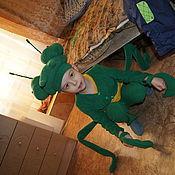 """Работы для детей, ручной работы. Ярмарка Мастеров - ручная работа костюм """"Богомол"""". Handmade."""