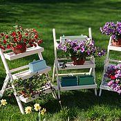Для дома и интерьера handmade. Livemaster - original item Stand-ladder white. Handmade.