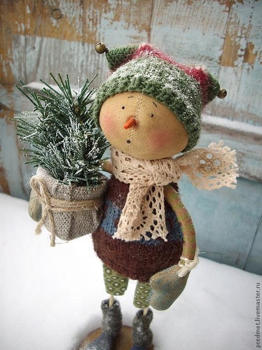 Новый год 2017 ручной работы. Ярмарка Мастеров - ручная работа. Купить Torsdag (Четверг) - Новогодняя неделька. Handmade. Новый Год