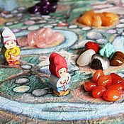 Куклы и игрушки ручной работы. Ярмарка Мастеров - ручная работа Настольная Игра ходилка с самоцветами Богатый гном. Handmade.