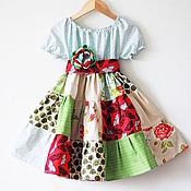"""Работы для детей, ручной работы. Ярмарка Мастеров - ручная работа Платье для девочки """"Бабочки"""". Handmade."""