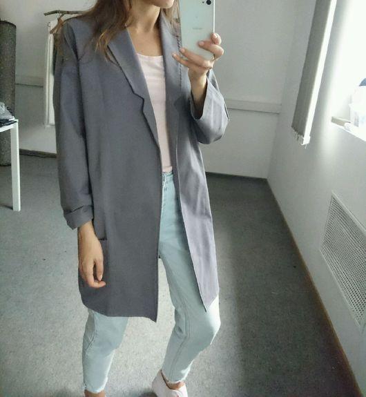 Пиджаки, жакеты ручной работы. Ярмарка Мастеров - ручная работа. Купить Летний пиджак из льна. Handmade. Пиджак из льна