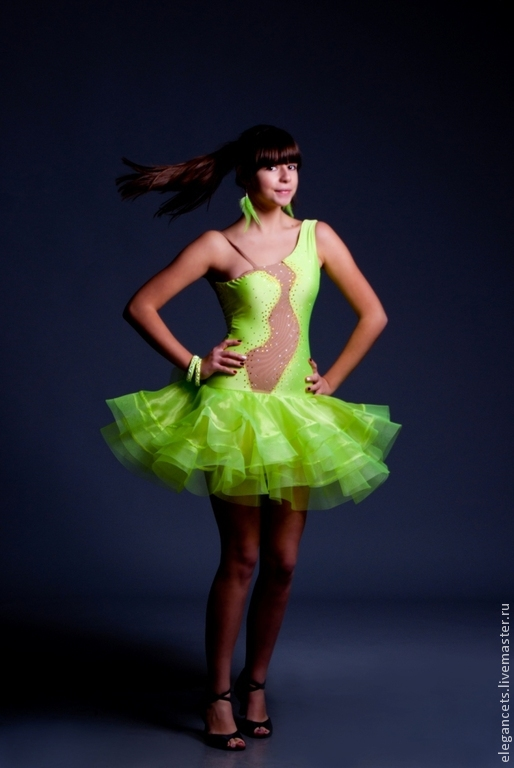 """Платье для бальных танцев (латина) """"Limy"""", Танцевальные костюмы, Мариуполь, Фото №1"""