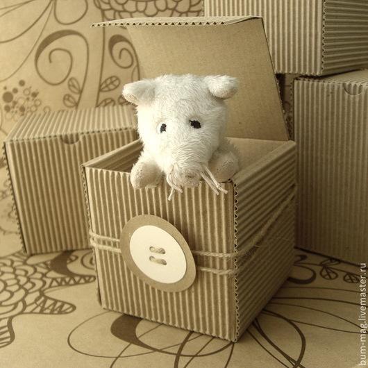 Упаковка ручной работы. Ярмарка Мастеров - ручная работа. Купить Коробка из двуслойного гофрокартона (на заказ). Handmade. Упаковка