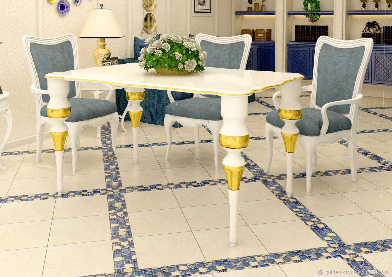 Вид стола в интерьере