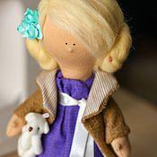 Куклы и игрушки ручной работы. Ярмарка Мастеров - ручная работа Куколка Софачка. Handmade.