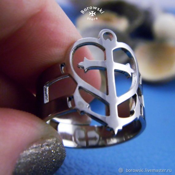 Ring-amulet ' Faith Hope Love', Rings, St. Petersburg,  Фото №1