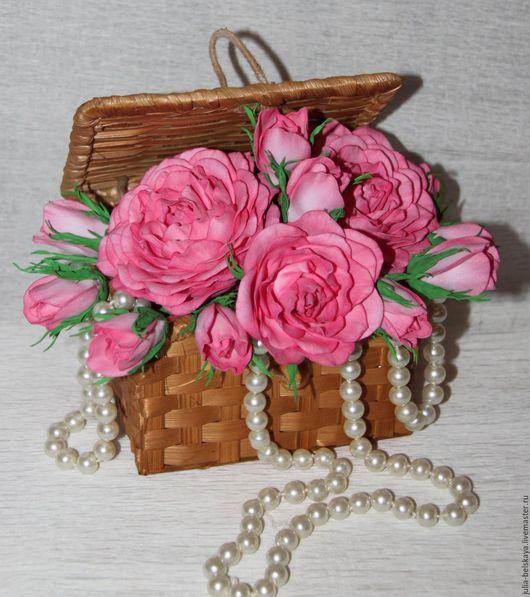 Цветы ручной работы из фоамирана. Сделано с любовью! Юлия Бельская