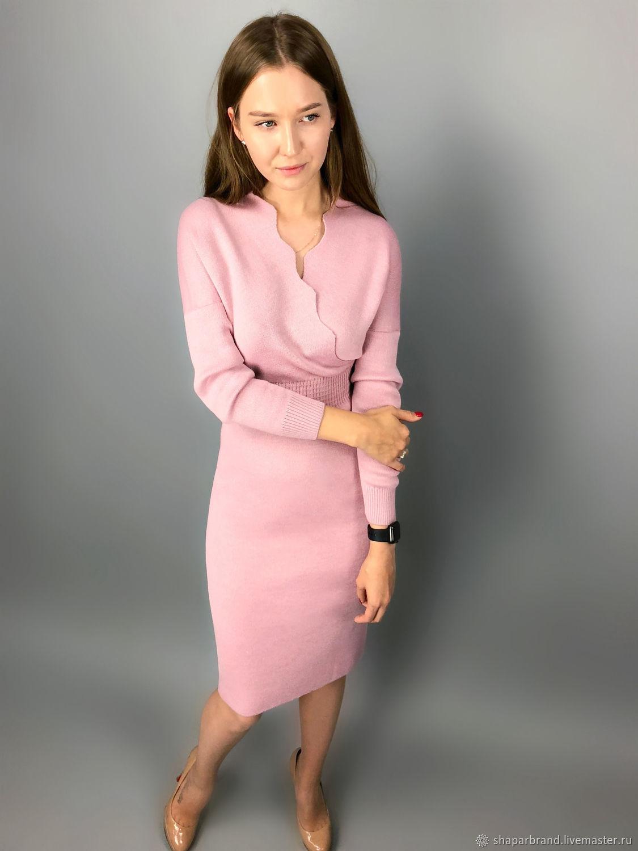 Платье вязаное - цвет и размер любые, Платья, Москва, Фото №1