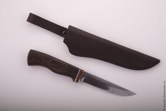 """Подарки для мужчин, ручной работы. Ярмарка Мастеров - ручная работа. Купить Нож """"Ежевика"""". Handmade. Ножны, подарок мужчине"""