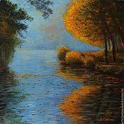 """Картины и панно ручной работы. Ярмарка Мастеров - ручная работа """"Живая осень"""". Handmade."""