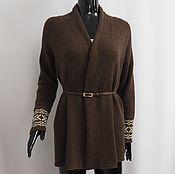 Одежда handmade. Livemaster - original item Cardigan cashmere. Handmade.