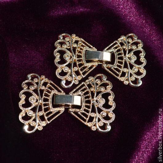 Замок застёжка  многорядный Для браслетов Для украшений Нина(SilverBox) Ярмарка Мастеров