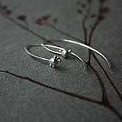 Украшения ручной работы. Ярмарка Мастеров - ручная работа Серьги Смешные серебро 925 минимализм. Handmade.