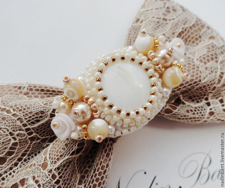 Barrette 'Pearl Dreams', Hairpins, St. Petersburg,  Фото №1