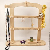 Для дома и интерьера ручной работы. Ярмарка Мастеров - ручная работа Органайзер для хранения украшений Домик. Handmade.