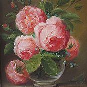 Картины ручной работы. Ярмарка Мастеров - ручная работа Розовый букет. Handmade.