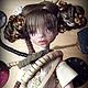 Коллекционные куклы ручной работы. Safi Gold Steampunk. Инна Павлова. Интернет-магазин Ярмарка Мастеров. Коричневый, стимпанк механизмы