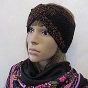 Аксессуары handmade. Livemaster - original item Headband with beads and Czech beads, a gift for a girl.. Handmade.