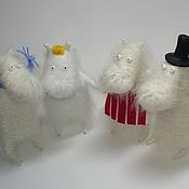 Куклы и игрушки ручной работы. Ярмарка Мастеров - ручная работа Муми-семейство. Handmade.