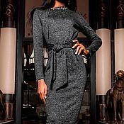 """Одежда ручной работы. Ярмарка Мастеров - ручная работа Платье """"Lotos"""" black. Handmade."""