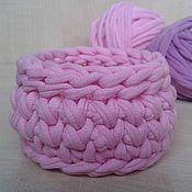Украшения ручной работы. Ярмарка Мастеров - ручная работа Браслет вязаный розовый. Handmade.