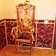 Мебель ручной работы. Ярмарка Мастеров - ручная работа. Купить Кресло полумягкое. Handmade. Желтый, эксклюзивная мебель, украшение для интерьера