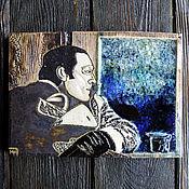 Картины и панно ручной работы. Ярмарка Мастеров - ручная работа Бродский в Венеции (керамическое панно). Handmade.