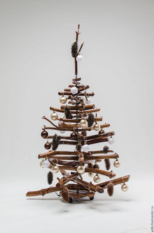 Новый год 2017 ручной работы. Ярмарка Мастеров - ручная работа. Купить Елка новогодняя. Handmade. Елка ручной работы, елка