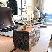 Ночники ручной работы. Ярмарка Мастеров - ручная работа Лампа в стиле Loft с регулировкой. Handmade.