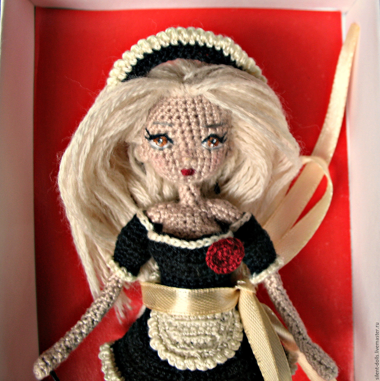 Схема тела куклы крючком