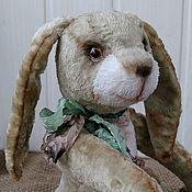 Куклы и игрушки ручной работы. Ярмарка Мастеров - ручная работа Мартовский тедди кролик. Handmade.