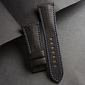 Украшения handmade. Livemaster - original item Calf leather watchband (11). Handmade.