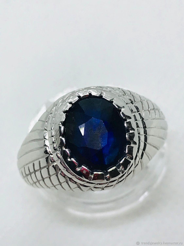 невесты своей серебряное кольцо с синим камнем фото проста как для