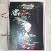 Подарки к праздникам handmade. Livemaster - original item Copy of Copy of Copy of Notepad Wonderland. Handmade.