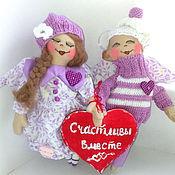 Подарки к праздникам handmade. Livemaster - original item Lovers the angels.. Handmade.