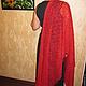 Шали, палантины ручной работы. Роскошный палантин для роскошной женщины.. Марина Зацепина вязание. Интернет-магазин Ярмарка Мастеров. Однотонный