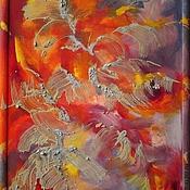 """Картины и панно ручной работы. Ярмарка Мастеров - ручная работа Картина """"Случайные мысли"""". Handmade."""