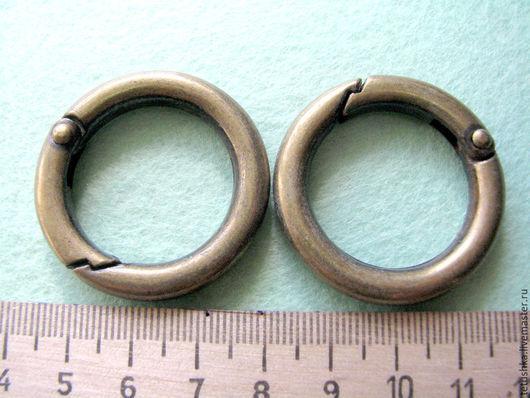 Другие виды рукоделия ручной работы. Ярмарка Мастеров - ручная работа. Купить Уценённый кольцо-карабин 3.8 см. Handmade.